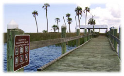 Chassahowitzka river boardwalk.