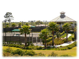 Citrus Hills Tennis courts.