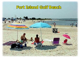 Fort Island Gulf Beach.