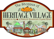 Heritage Village located in the heart of historic downtown Crystal River.