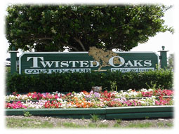 Twisted oaks country club.
