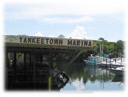 Yankeetown Marina.