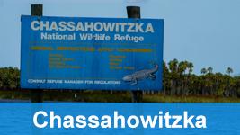 Chassahowitzka national wildlife refuge sign.