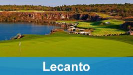 Gulf course in Lecanto, Florida.
