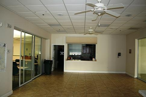 Lobby of the rental facility of the Citrus County Realtors Association.